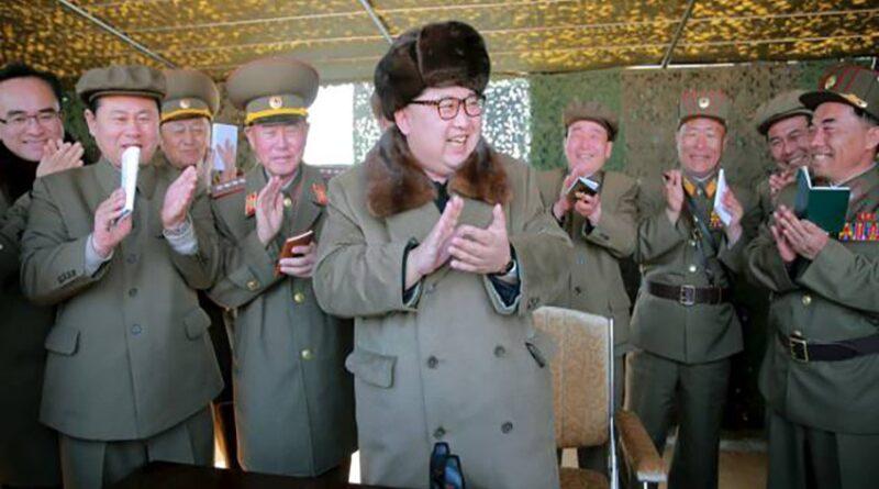 Kim Jong Un celebra