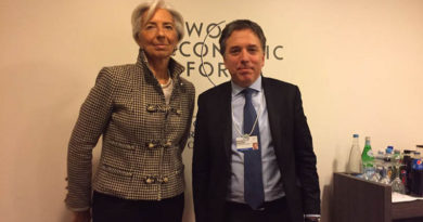 Davos: Dujovne se reunió con Lagarde, pero descarta pedirle un préstamo al FMI