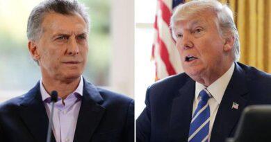 """Trump elogió el """"liderazgo"""" de Macri, según la Casa Blanca"""
