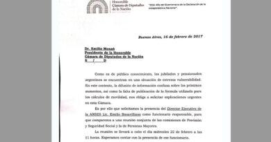 Jubilaciones: a pesar de la marcha atrás de Macri, citaron a Basavilbaso al Congreso