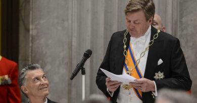 """El rey de Holanda celebró el regreso a la escena internacional de una Argentina """"segura de sí misma"""""""
