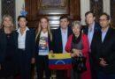 Diputados de Cambiemos recibieron a Lilian Tintori